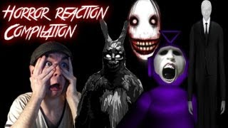 getlinkyoutube.com-Horror Game Reaction Compilation | A Collection of the Biggest and Best Scares | Funny Subtitles