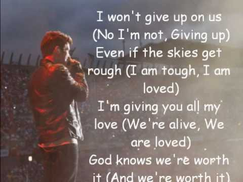 Big Time Rush - I Won't Give Up COVER with Lyrics :)
