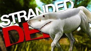 getlinkyoutube.com-LAND SHARKS! | Stranded Deep #4