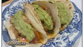 getlinkyoutube.com-Tacos Mexicanos (a mi manera) | Recetas de cocina | Cocina de Martina