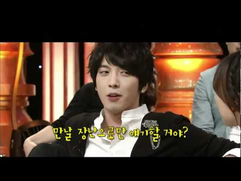 NaN Yonghwa imitate Simon D with Lady Jane Cut