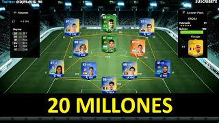 getlinkyoutube.com-PLANTILLA DE 20 MILLONES DE MONEDAS | FIFA Ultimate Team | DjMaRiiO