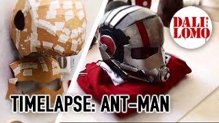 getlinkyoutube.com-Timelapse - Making Ant-Man Helmet | Costume | Dali DIY