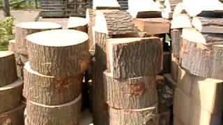 getlinkyoutube.com-kloofmachine openhaardhout houtkloven