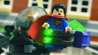 getlinkyoutube.com-Lego Stop Motion - Superman VS Lex Luthor 樂高超人!!!