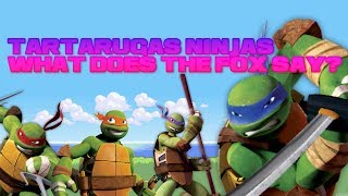getlinkyoutube.com-Tartarugas ninjas wat the fox say? (se inscrevam no canal)