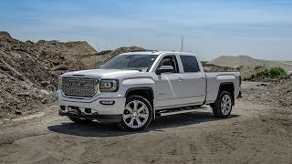 getlinkyoutube.com-2016 GMC Sierra Denali - White Frost