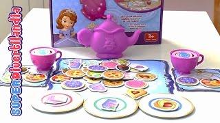 getlinkyoutube.com-La Tetera Mágica de la Princesa Sofía de Disney. Juego de mesa.