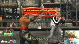 getlinkyoutube.com-2015/01/23 Tekken TAG 2 Knee's Stream 무프리카!