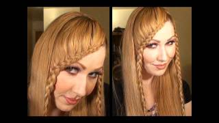 getlinkyoutube.com-Como Hacer una Trenza de Flequillo peinado de moda   so cute