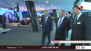 getlinkyoutube.com-Ислам Каримов засыпал Нурсултана Назарбаева комплиментами