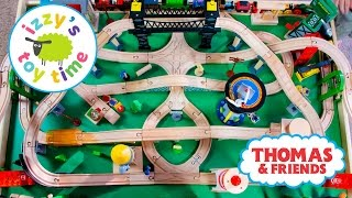 Thomas and Friends | Thomas Train Naptime Track with Brio and Imaginarium | Toy Trains 4 Kids