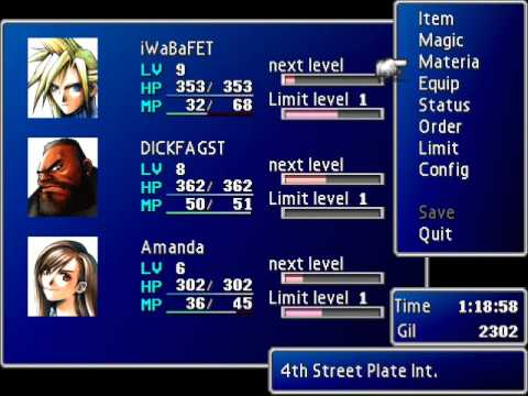 Final Fantasy VII: Gameplay / Walkthrough - Ep. 9 - Trying To Plant The Bomb Is Hard Work