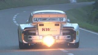 getlinkyoutube.com-Porsche Special at Swiss Hillclimb 2012, 935 Turbo, Carrera RSR, 911 RSR, 996 997 GT3 Cup, 914, 917