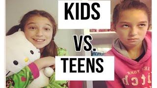 getlinkyoutube.com-Kids Vs. Teens Morning Routine!