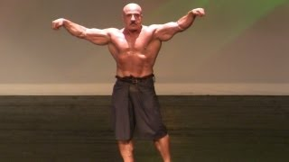getlinkyoutube.com-Mr Olympia 83 Samir Bannout Guest Posing at The 2012 Joe Weider's Master Mr Olympia