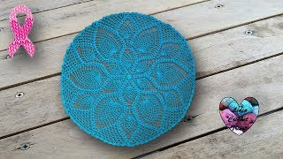 Nappe Napperon Crochet point ananas sublime width=