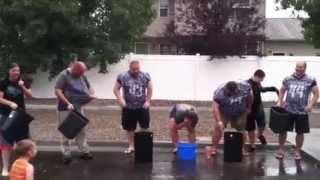 Idaho Mustangs management  ALS Challenge width=