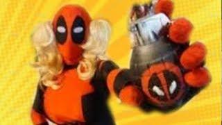 getlinkyoutube.com-I Like Your Figure ft Deadpool, Spiderman, Black Cat, Captain America, Black Widow & more!
