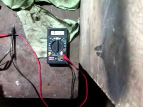 Проверка датчика уровня топлива Ford Sierra