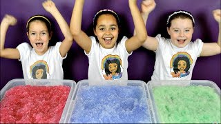 getlinkyoutube.com-Super Slushy Gelli Baff Toy Challenge | Disney Frozen Fashems Prizes | Shopkins