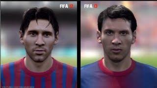 getlinkyoutube.com-FIFA 12 vs FIFA 13: Player Faces (Barcelona Player Faces FIFA 13 and FIFA 12 Comparison)