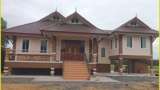 getlinkyoutube.com-แบบบ้านชั้นเดียวยกพื้น BP03 สร้าง จ.กาญจนบุรี