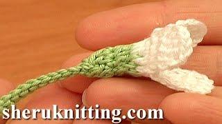 getlinkyoutube.com-Crochet Snowdrop Flower Pattern Tutorial 75 Free Crochet Flower Patterns