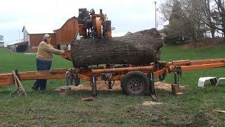 getlinkyoutube.com-Walnut Tree Cut Into Lumber
