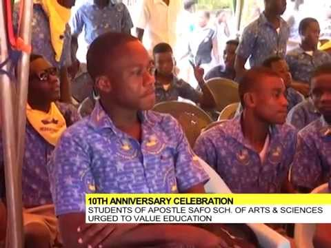 Apostle Safo School of Arts and Sciences celebrates 10th Anniversary