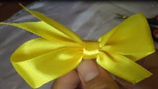 getlinkyoutube.com-DIY-cara membuat pin kupu-kupu dari pita-how to make a butterfly pin from the ribbon