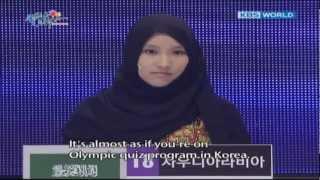 getlinkyoutube.com-Mariam from Saudi Arabia at QUIZ ON KOREA