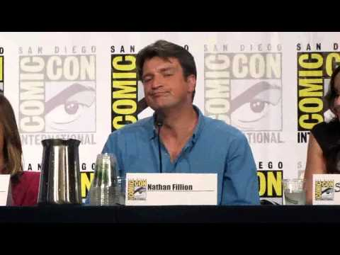 Nathan Fillion at TV Guide's Fan Favorite's panel