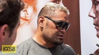 getlinkyoutube.com-UFC 193: Mark Hunt on Bigfoot, Cro Cop, how much longer he'll fight for