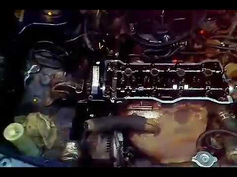 Установка ремня ГРМ и распредвалов на Toyota Carina 2 двигатель 4af карбюратор