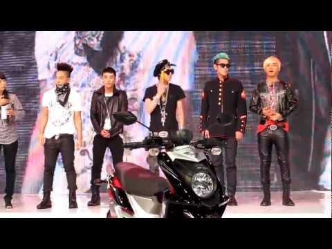 [FANCAM] Bigbang Meet&Greet @YAMAHA BANGKOK MOTER SHOW 2012