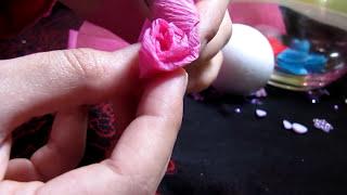 getlinkyoutube.com-Diy: paper flower ball
