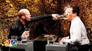 getlinkyoutube.com-Water War with Jason Statham (Late Night with Jimmy Fallon)