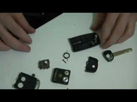 Как разобрать выкидной ключ Хонда Акура