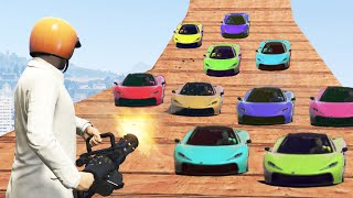 getlinkyoutube.com-KILL THE SUPER CAR HORDE! (GTA 5 Funny Moments)