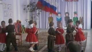 getlinkyoutube.com-Танец-постановка на день защитника отечества (23 февраля)