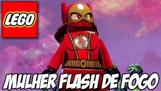 getlinkyoutube.com-Lego Batman 3 - Flash de Fogo e Nave IRADA