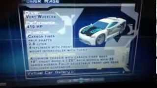 getlinkyoutube.com-Hot wheels acceleracers virtual car gallery TEKU