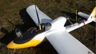 getlinkyoutube.com-PENGUIN PLANE FOR FPV AEROMODELISME FINWING UAV DRONE