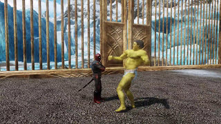 getlinkyoutube.com-The Hulk VS Deadpool - Skyrim Death Battle