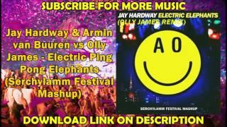 getlinkyoutube.com-Jay Hardway & AvB vs Olly James - Electric Ping Pong Elephants (Serchylamm Festival Mashup)