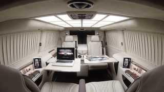 getlinkyoutube.com-TECHINTACTO® V-Class | Luxury Business Van | VIP Business Cars