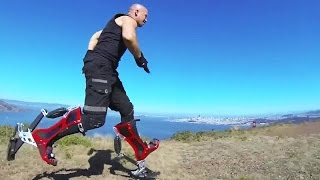 getlinkyoutube.com-Bionic Boot - Sprinting Power Boots With Speed Of 40 Km/h [720p]