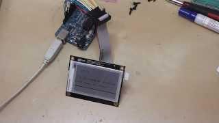 getlinkyoutube.com-Playing with an e-paper display