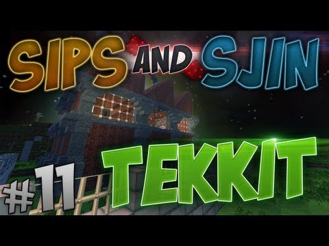 Tekkit - Episode 11 - Pipe Spaghetti